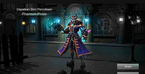 Jual Phantom Pirate Epic Skin Roger Mobile Legends Dari Skin Shop