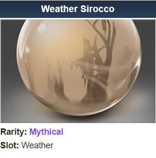 Genuine Weather Sirocco (Weather)