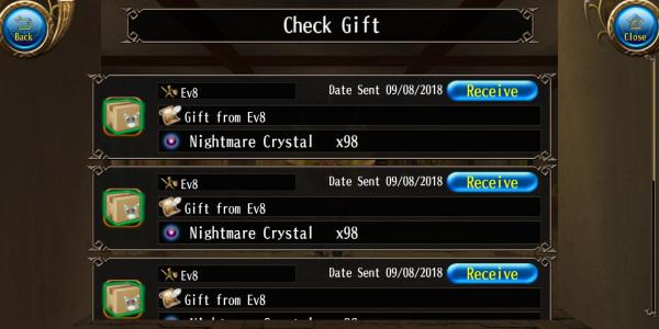 Nightmare Crystal (500 stk)