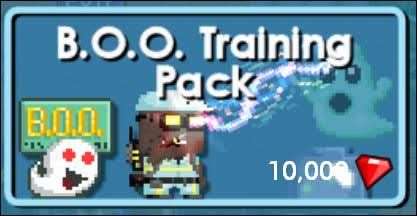 BOO Training Pack (Set Ghost Buster)
