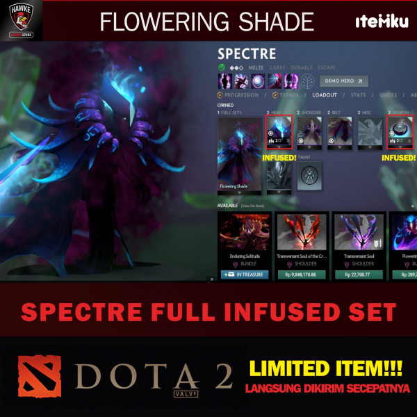Flowering Shade (Spectre Set)