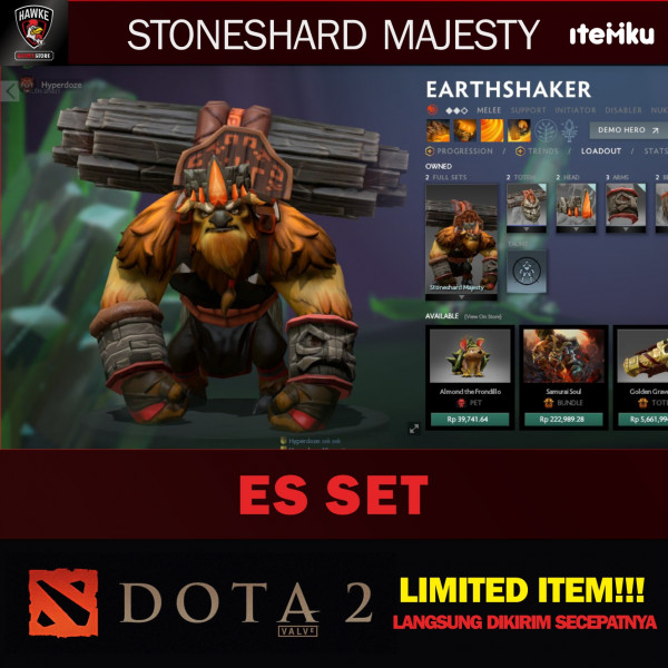 Stoneshard Majesty (Earthshaker Set)
