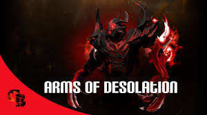 Arms of Desolation (Immortal Shadow Fiend)