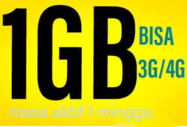 Data Indosat/IM3 1GB