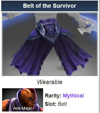 Belt of the Survivor (Anti-Mage)