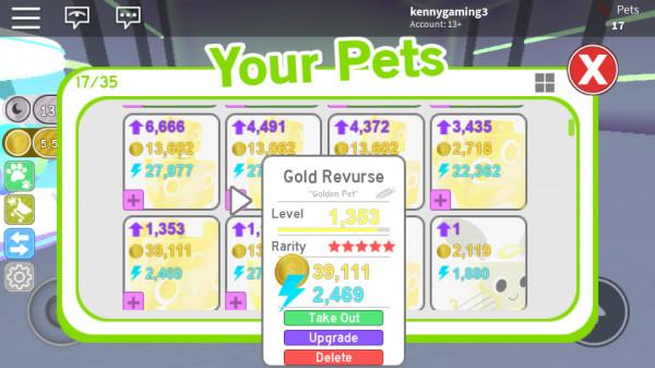Golden Revurse Tier 14 bonus Golden