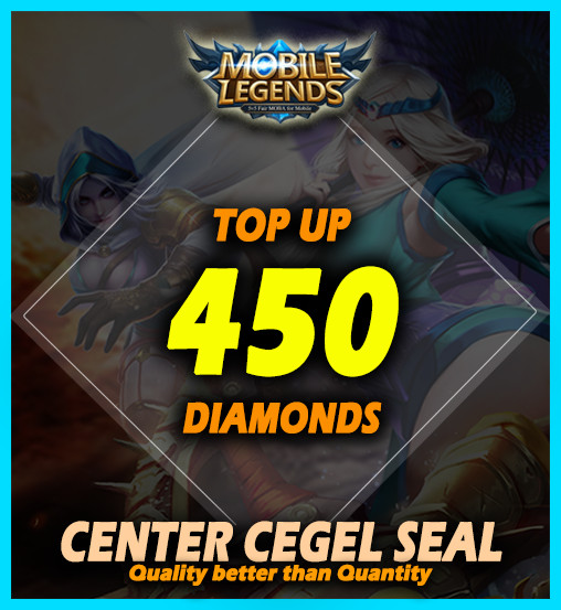 Top Up 450 Diamonds