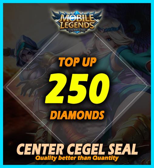 Top Up 250 Diamonds