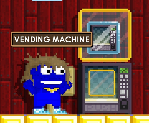 VENDING MACHINE FREE DISPLAY BOX