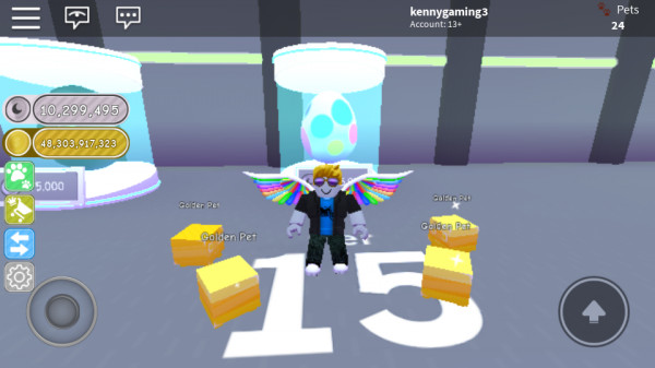 Opening Egg Random Tier 15