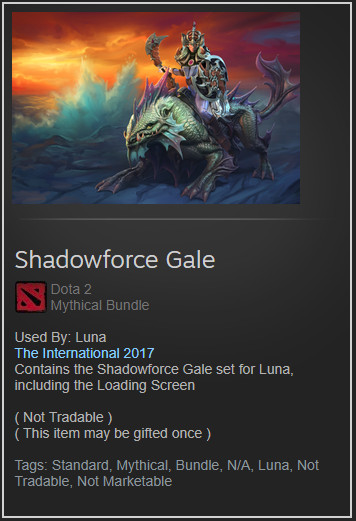 Shadowforce Gale (Luna Set)
