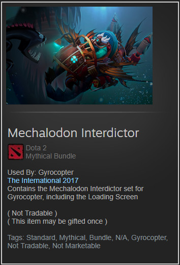 Mechalodon Interdictor (Gyrocopter Set)