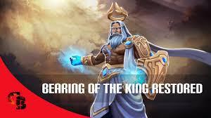 Bearing of the King Restored (Zeus Set)