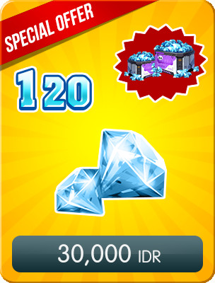 Top Up 120 Diamonds Special Offers