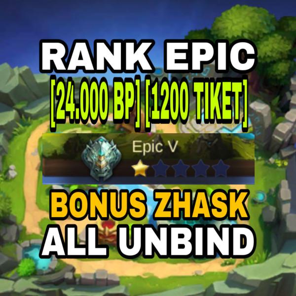Akun Epic, Hero & Skin GG, Sultan