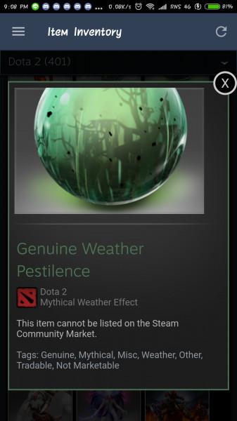 Genuine Weather Pestilence (Weather)