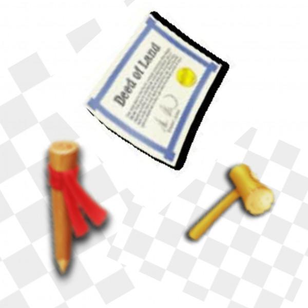 Paket Lahan 50Patok + 50Martil + 50Akta
