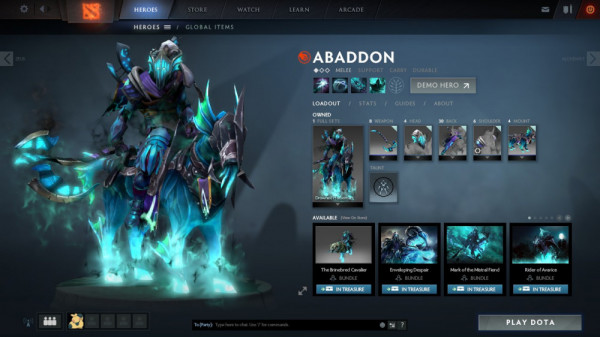 Drowned Horseman (Abaddon Set)