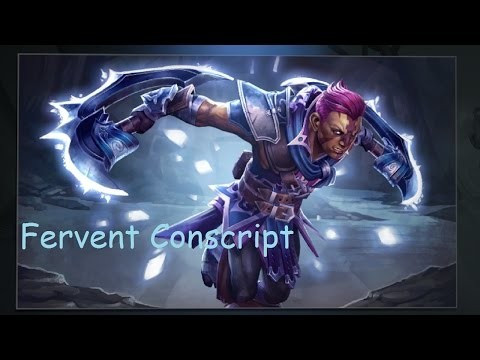 Fervent Conscript (Anti-Mage Set)