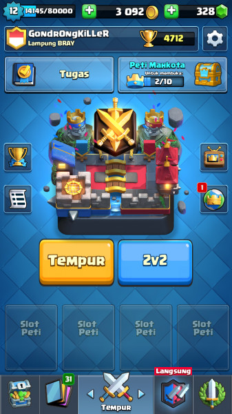 Level 12 [ Card GG Siap Tempur ]