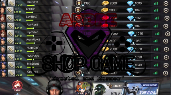 5 AKUN POLOS DIAMOND 1000