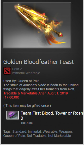 Golden Bloodfeather Feast