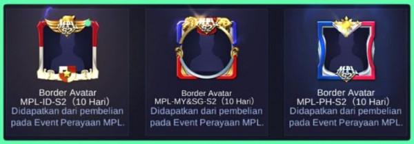 MPL-MY-SG-S2 Avatar Border