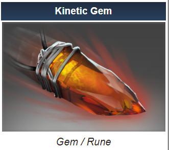Kinetic: Mark of the Divine Anchor (Gem)