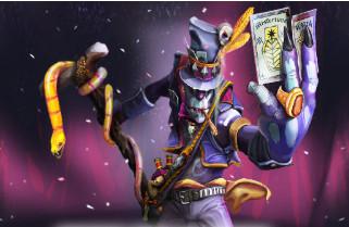 Garments of the Devilish Conjurer (Wtich Doctor)
