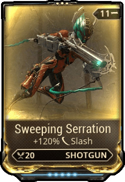 Sweeping Seration