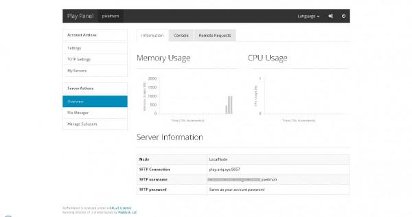 Minecraft Server 1024 MB / 1GB RAM