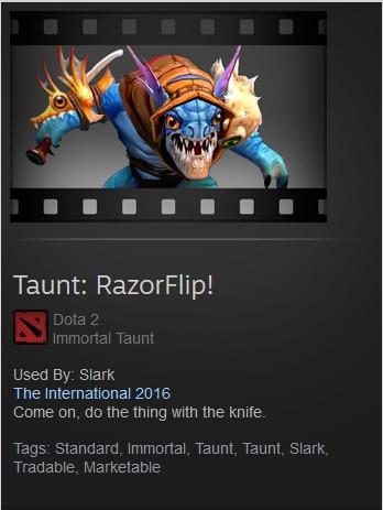 Taunt: RazorFlip!