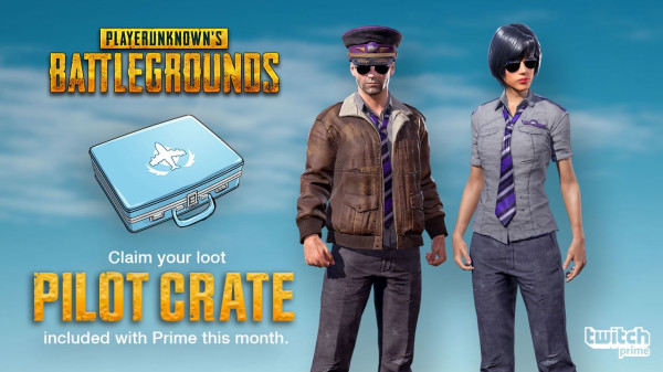 Pilot Crate Twitch Prime