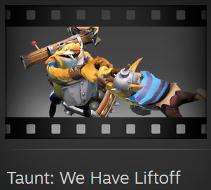 Taunt: We Have Liftoff (Techies Taunt)