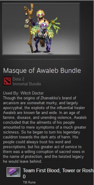 Masque of Awaleb Bundle