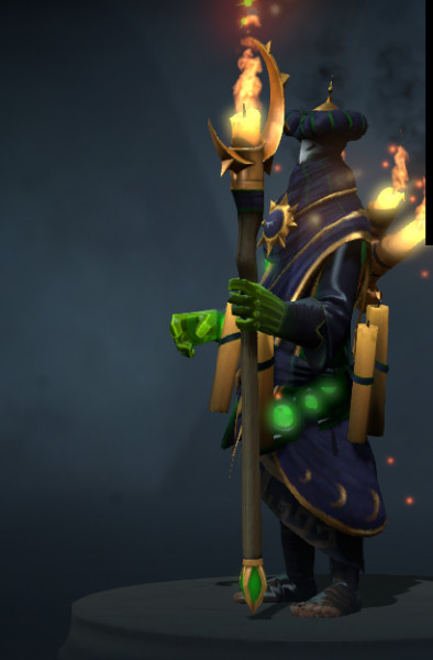Garb of the Cunning Augur (Rubick Set)