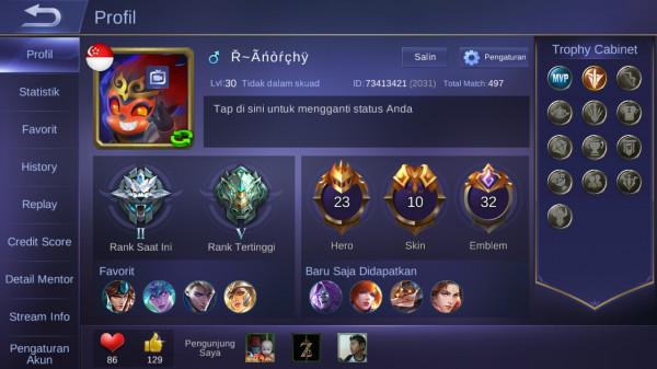Level 30/hero 23/skin 10
