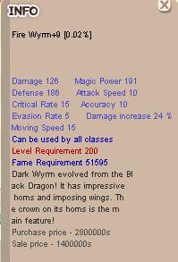 Fire Wyrm +9