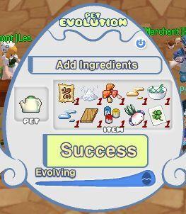 Set Bahan Evolution Pet (Mandra Seed)