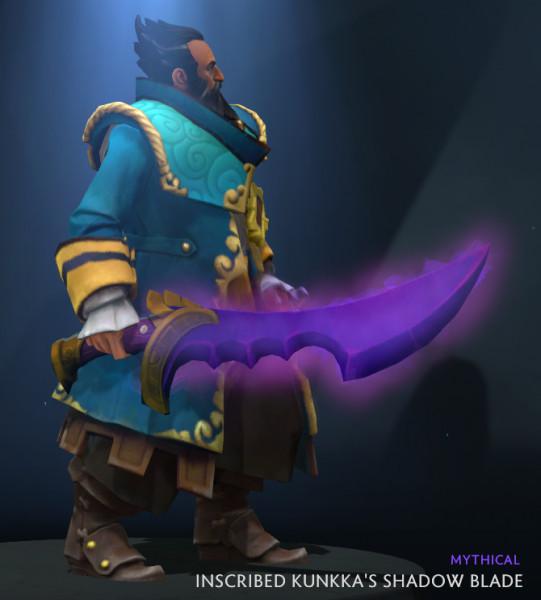 Auspicious Kunkka's Shadow Blade (Kunkka)