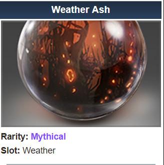 Weather Ash (Weather)