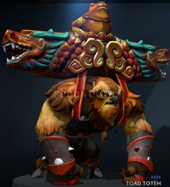 Genuine Toad Totem (Earthshaker)