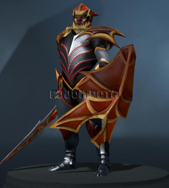 Armor of Sir Davion Set (Dragon Knight Set)