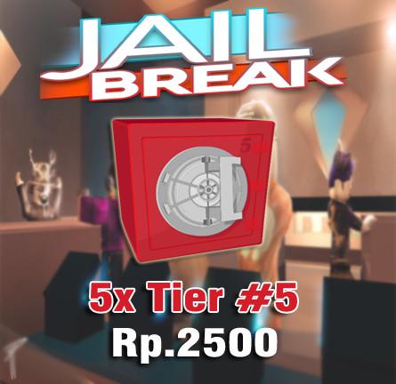 Paket 5x Tier#5 - Jailbreak Roblox