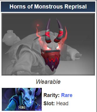 Horns of Monstrous Reprisal (Riki)