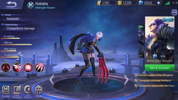 Midnight Raven (Special Skin Natalia)