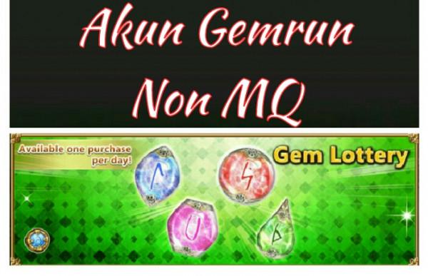 Akun Legendary gem non MQ