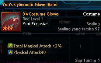 Yuri's Cybernetic Glove