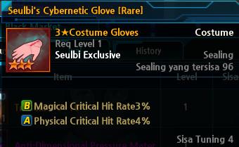 Seulbi's Cybernetic Glove