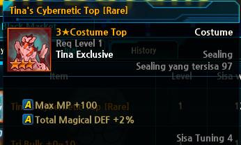 Tina's Cybernetic Top [Rare]